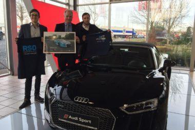 Audi Zentrum Krefeld und Rennsport Online verlängern ihre Zusammenarbeit