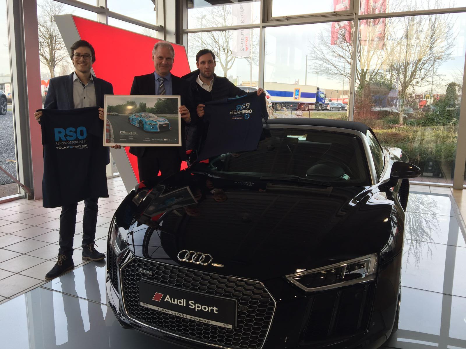 RSO Audi Zentrum Krefeld Toefi