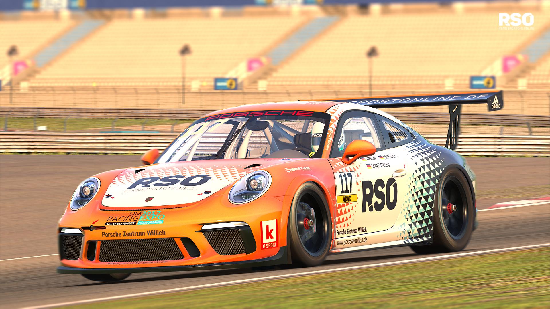 SimExpo 2017 RSO Porsche